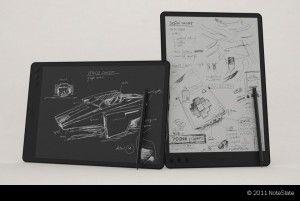 Electronic Paper Tablet   DesignRulz.com