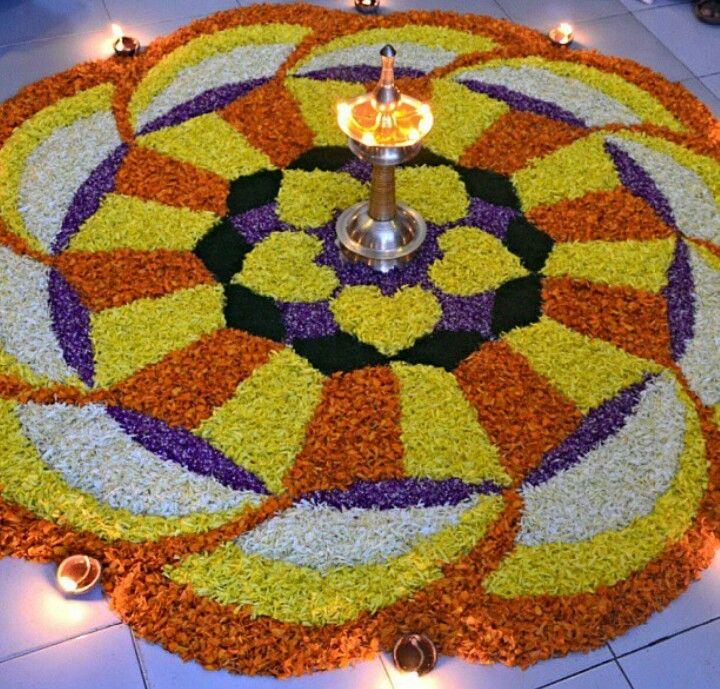 1000 Images About Rangoli: 1000+ Images About Floral Rangoli On Pinterest