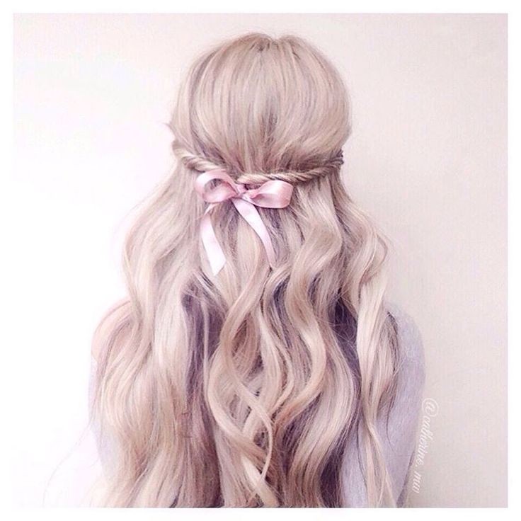 hair ribbon styles 15 best ideas about ribbon hairstyle on 5738