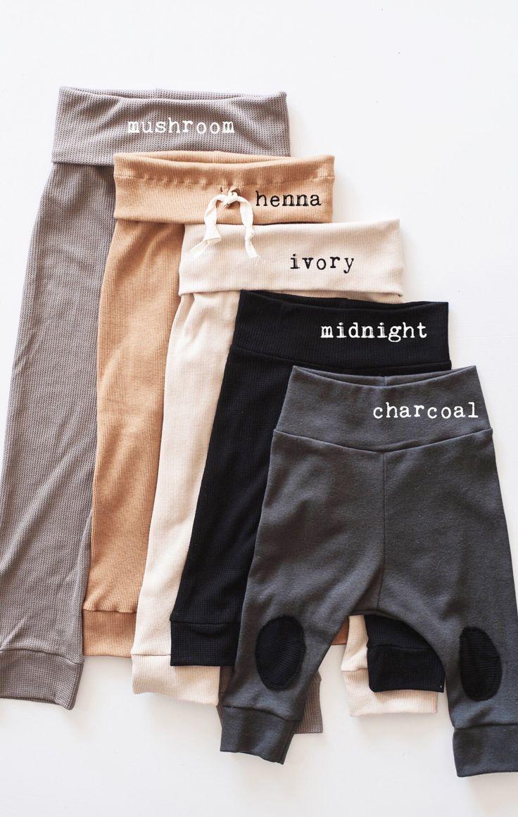 c0d0de2dc Handmade Unisex Soft Stretch Baby Toddler Leggings | Gypsyandfree on Etsy