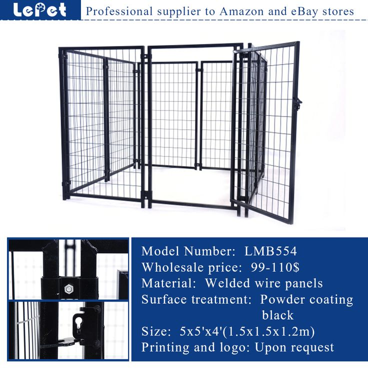 Best 35 large welded wire dog kennel /chain link dog kennel/dog cage ...