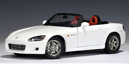 HONDA  S  2000 (WHITE) (US VERSION) --- LH DRIVE                                                                                                                                                                                 More
