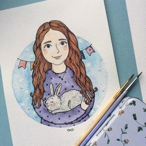 "◽️Tania Samoshkina◽️ en Instagram: ""• little princess•  (Custom portrait)"""