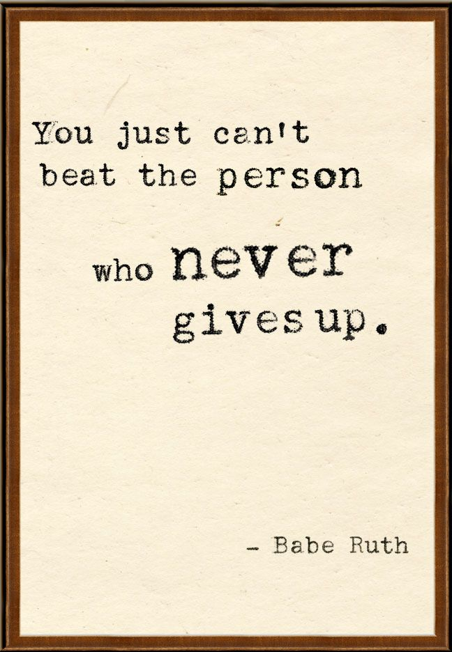 #baberuth truth quote