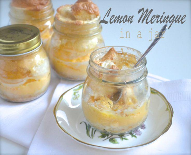 Lemon Meringue in a jar