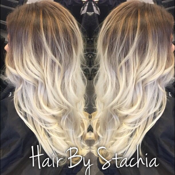 Rooty Platinum Blonde Balayage Ombr 233 Hair Make Me Pretty