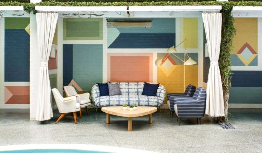 Kelly Wearstler's Incredible Mid-Century Restaurant Design