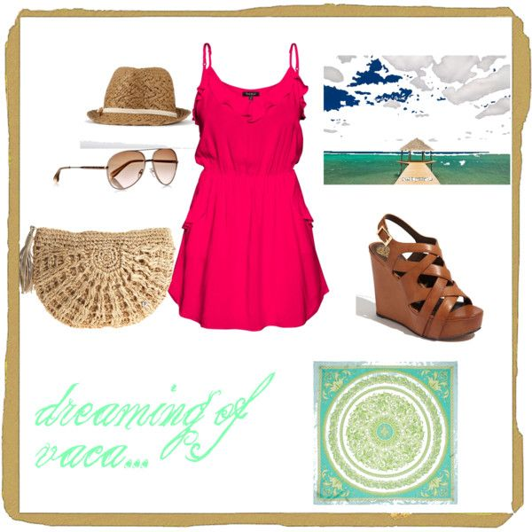 the perfect beach vacation outfit: Color, Dressup, Vacation Outfit, Has, Beach Vacation