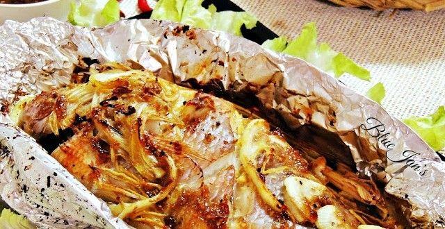 Cá điêu hồng nướng giấy bạc cuốn bánh tráng | Món ngon mỗi ngày | Món ăn ngon | Món ngon Việt Nam
