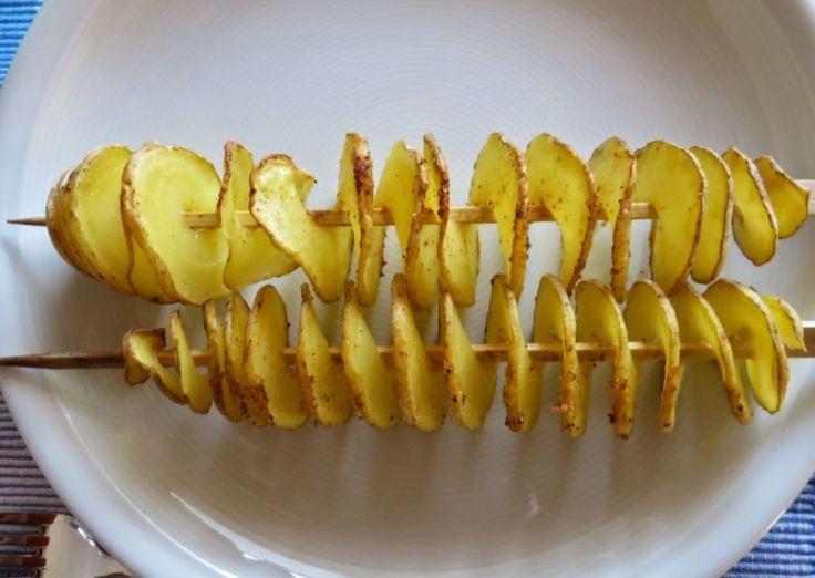 Kartoffelspiralen, The Pampered Chef, Zauberstein