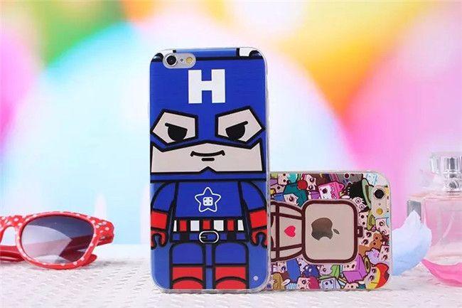 TPU Cartoon süße und schöne Handyhülle für iphone 6 und iphone 6 Plus - Prima-Module.Com