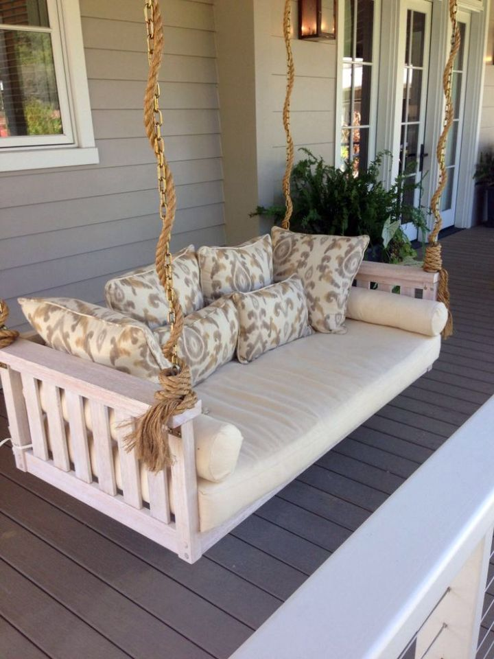 1000 ideas about outdoor swing beds on pinterest swing