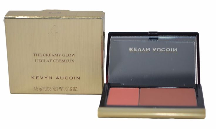 """Kevyn Aucoin – The Creamy Glow Lip & Cheek Palette - Tansoleil/Bettina. Lip and cheek. I WILL NOT write merchandise values below actual price or mark it as a """"gift"""" - US and International government regulations prohibit such behavior. 