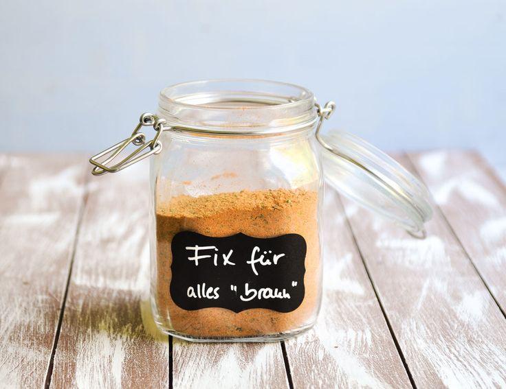 Fix für alles braune Soße für Geschnetzeltes, Pilz-Rahm-Soße, Jägerschnitze… – selbstgemachtes aus der Küche