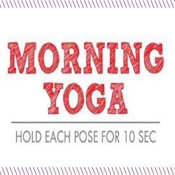 Sometimes coffee isn't the answer every morning to jump start your day. Why not start your day off right with a little yoga instead?