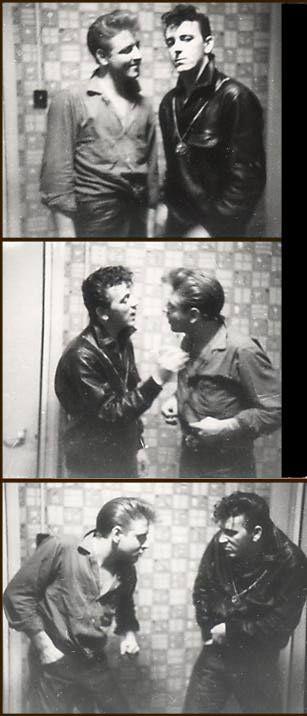 chaboneobaiarroyoallende:  Eddie Cochran and Gene Vincent