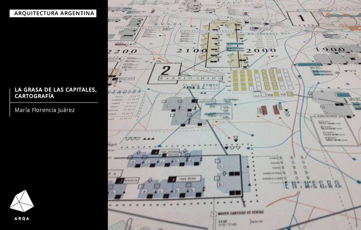La Grasa de las Capitales, es un trabajo de esquemática realizado para la materia Tipografía II, cátedra Longinotti, en el marco de la carrera de Diseño Gráfico UBA.  Más detalles en: http://arqa.com/diseno/diseno-grafico/la-grasa-de-las-capitales-cartografia.html arquitectura | argentina