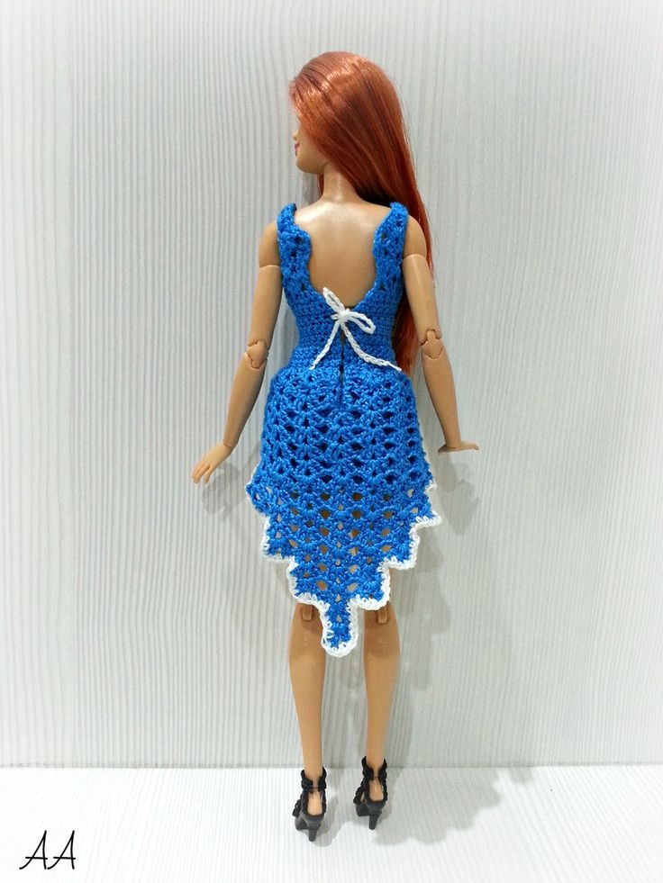 Вязаная одежда для кукол/Описания, схемы/Магазин