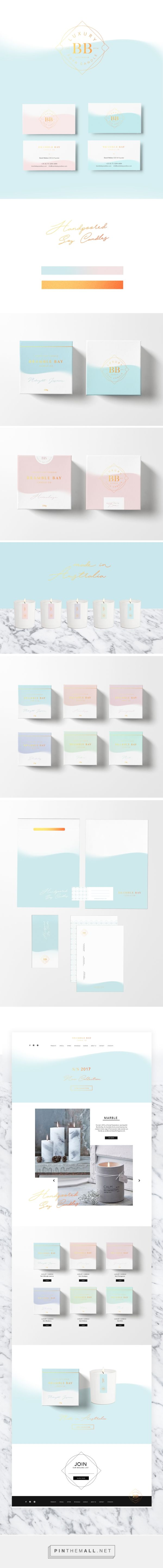 Bramble Bay Candles Branding and Packaging by Viola Wyszynska   Fivestar Branding Agency – Design and Branding Agency & Curated Inspiration Gallery