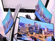 Samsung at CES 2014: gallery Take a virtual tour around Samsung's booth at CES in Las Vegas this year, with curved TVs and smart appliances as just some of the many products on show.