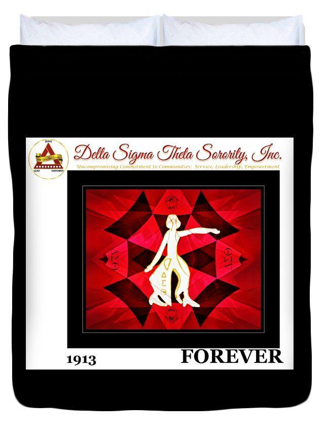 """Forever Delta Queen (88"""" x 88"""") Duvet Cover"""