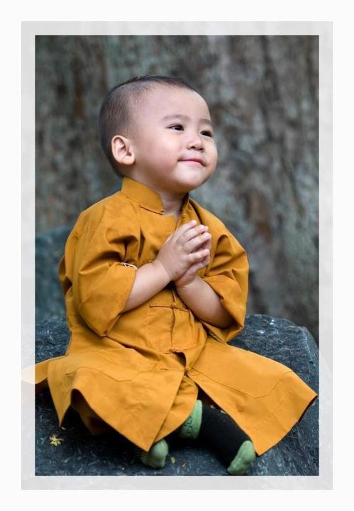 Little Monk....