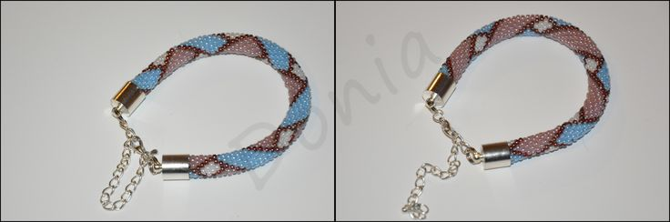 Bead Crochet Bracelet - choose your colour