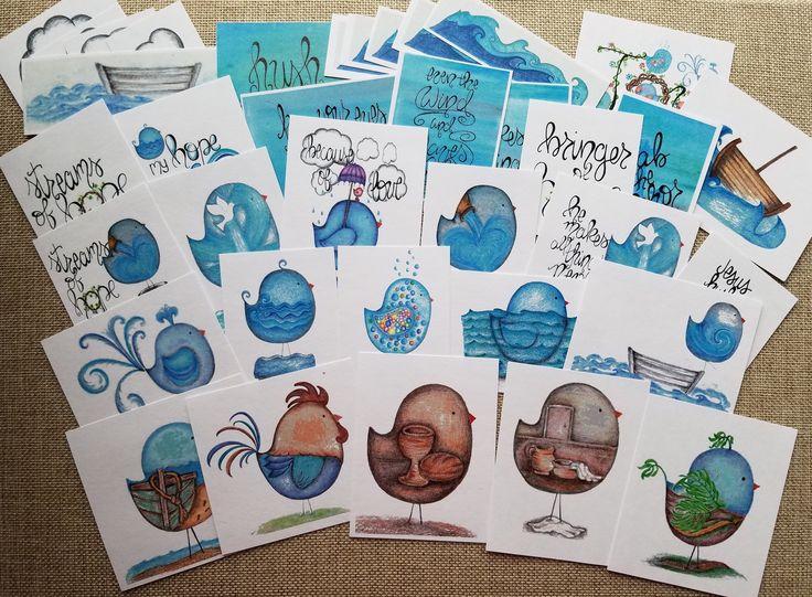 Download Streams of Hope journal kit,tip-ins,cards,birds,Lent ...