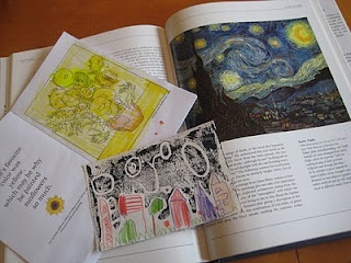 Starry Night Printable Book & Art (Van Gogh Study)