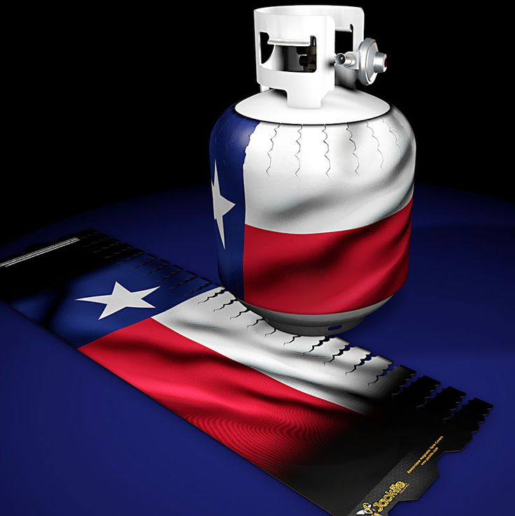 Texas State Flag Jack-its at www.jackits.com. Your source for the highest quality decorative removable magnetic propane tank covers.