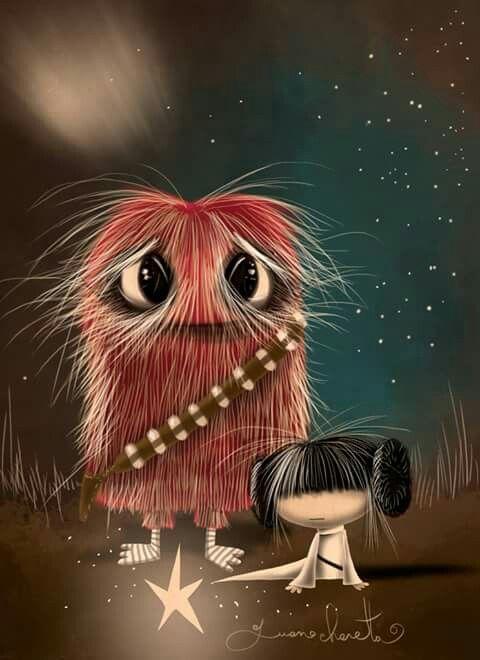 Puro Pelo- Chewbacca y Leia