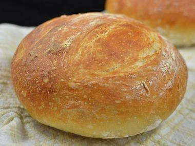 no knead bread, easy bread recipe not cast-iron needed