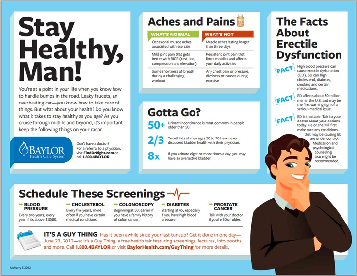 """Stay Healthy, Man! Does your man take better care of his car than his own health? It may be time for a tuneup! Download this tipsheet to get him """"started""""."""