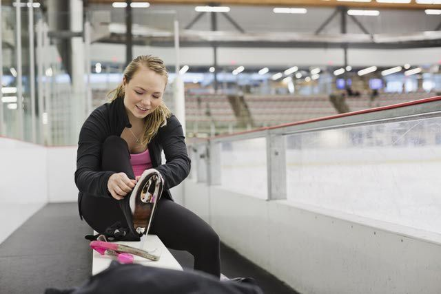 Step-by-Step Beginning Ice Skating Lesson