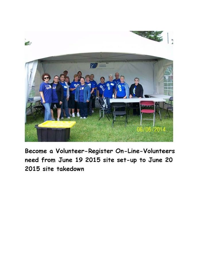 Looking for an enriching Volunteer Opportunity, join us at the Relais pour la vie de l'Ouest-de-l'Île/ West Island Relay for Life. Volunteers needed from 9 AM Friday June 19th 2015 for site setup, during the event for our Hollywood Themed event, during the night right up to the morning of June 20th. Many different spots available. As Volunteer Coordinator you can contact me through private message or register on the Relay web site  https://www.youtube.com/watch?v=9B_fnezHSQE