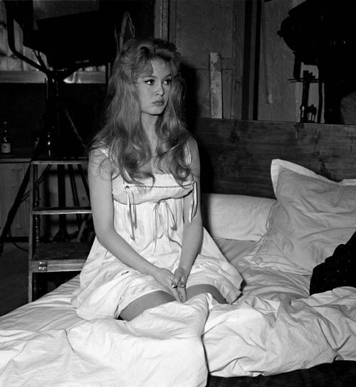Brigitte Bardot in 'Une Parisienne', 1957.