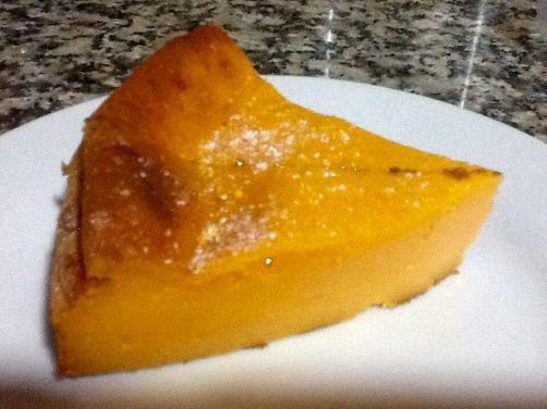Pastel de calabaza para #Mycook http://www.mycook.es/receta/pastel-de-calabaza/