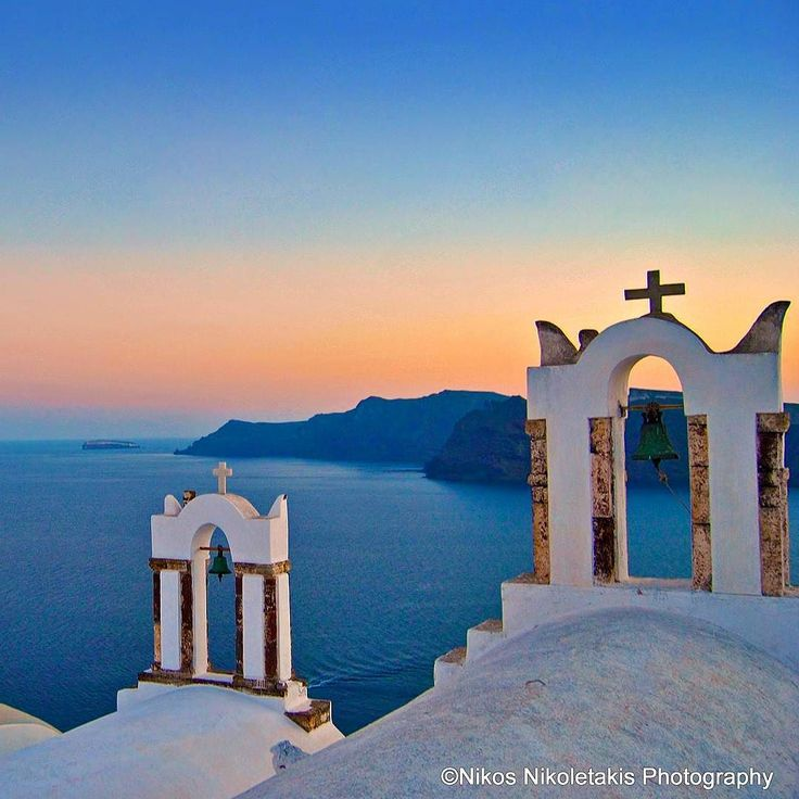 Oia village in Santorini Island. One of the most beautiful places in the world. Enjoy the rest of the day!