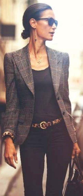classy blazer outfit!                                                                                                                                                                                 Más