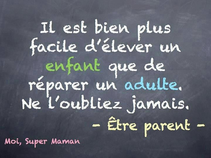 être parent...