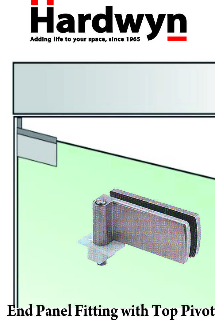 We Provide Glass To Glass Connecting Hinge Top Track Door