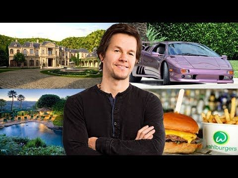 Mark Wahlberg's Net Worth ★ Houses ★ Cars ★ Burger Shop ★ Earnings ★ Wife - 2017 - YouTube