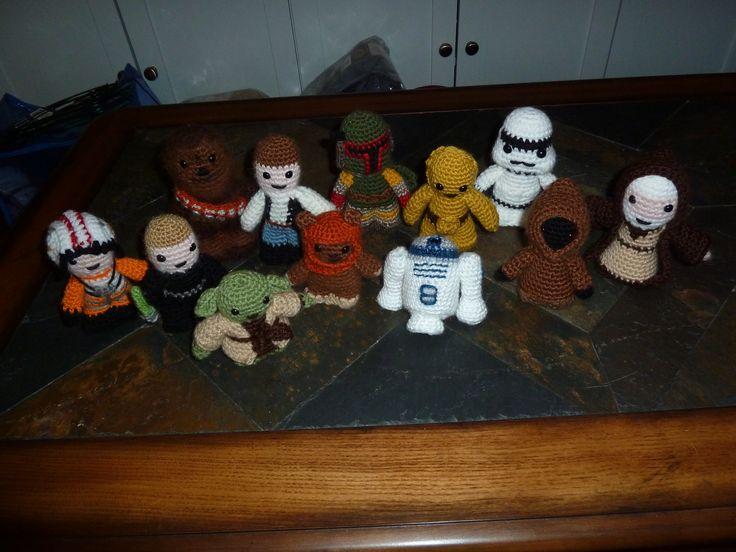 Mejores 32 imágenes de Star Wars Crochet Patterns en Pinterest ...