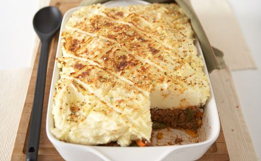 Lunch/Dinner: Epicure's Shepherd's Pie (350 calories/serving) serve with side of vegetables