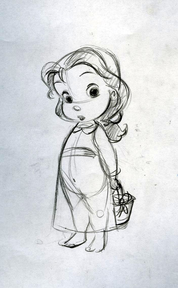 Disney Character Design Study : Baby belle by steve thompson movies and things