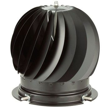 The MAD Spinner cowl is a British made revolving #ChimneyCowl designed to eradicate downdraught, whilst the rotating action assists ventilation. The base of the spinner cowl is made from die cast aluminium with a strong cross section to give support and strength to the rotating spinner. The fins are made from stainless steel and are spot woven into place and then spot welded giving extra strength during rotation. Suitable for use with Coal, Wood, #Gas, Oil and Smokeless fuels. #MAD