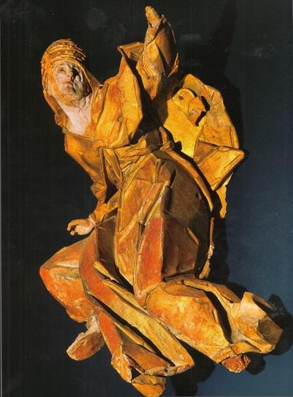 Bishop's figure (Allegory of Catolicism)   Discover Ukraine 2012