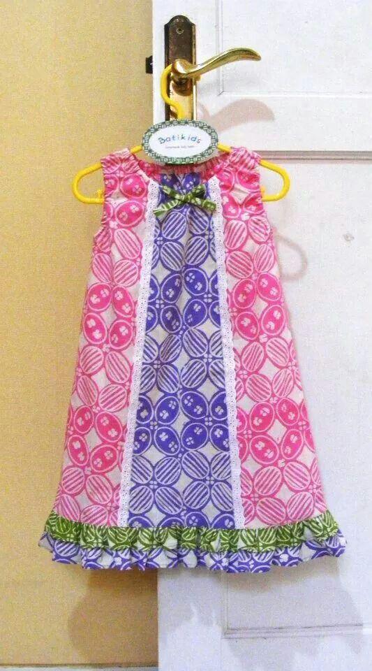 pink baby batik
