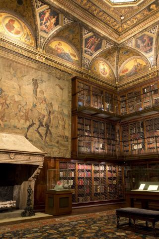 These peaceful places will help you escape the hustle and bustle of the city without actually leaving: Morgan Library and Museum. See more here.