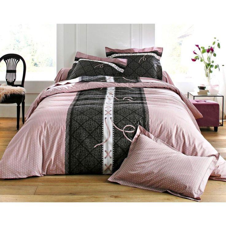 Taie d'oreiller ou traversin esprit boudoir